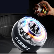 Metal wrist force ball 100KG wrist ball exercise arm muscle grip centrifugal ball self-starting arm strength training device