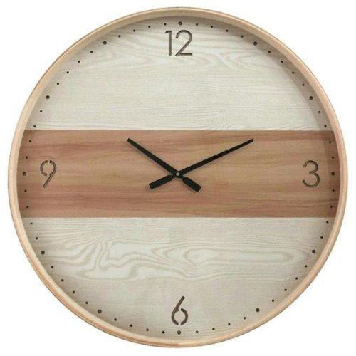 Yosemite Home Decor 5140028 Rounded Chic III Wall Clock