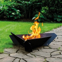 TRIANGLE garden fire pits Kratki