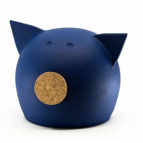 "(""DONAUBLAU 2020"", M) Chalk Collection Medium ""donaublau"" Piggy Bank & Adults"