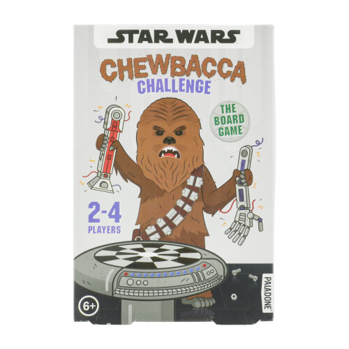Chewbacca Challenge Licensed Star Wars Board Game 2-4 Players