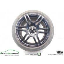 "Mercedes C-class W204 Rear 17"" Amg Alloy Wheel & Tyre A2044014602 07-14 (ref 4) - Used"
