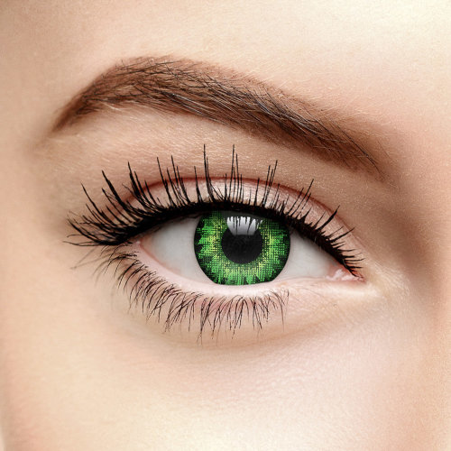 Air Optix Colours Gemstone Green Coloured Contact Lenses (30 Day)