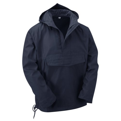 (Navy, XL) New Latest Style Hooded Anorak Smock Jacket
