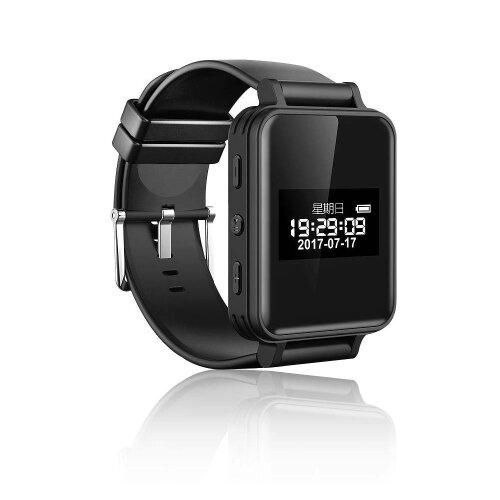 HanFei Vandlion Digital Voice Recorders Wrist Watch Wristband Business Audio Recording Dictaphone MP3 Long Battery Life Sound Recorder Digital Voice