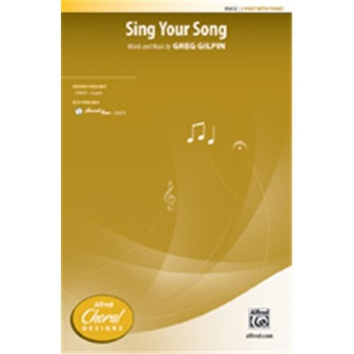 Alfred 00-35673 SING YOUR SONG-STRX CD