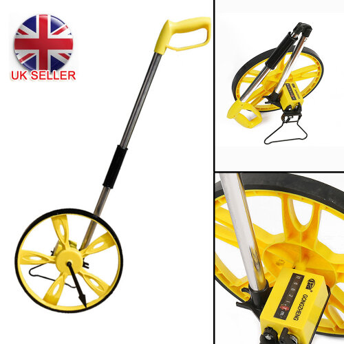 Foldable Distance Measuring Wheel with Stand Bag Surveyors Builders