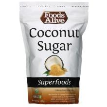 Foods Alive, Superfoods, Coconut Sugar, 395g