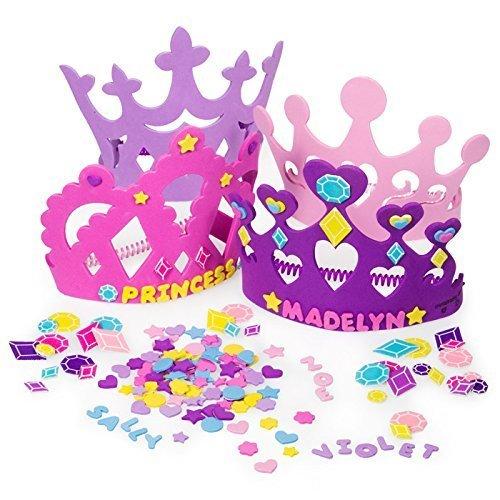 Fun Express Princess Tiara Crown Craft Kits