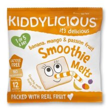 Kiddylicious Banana, Mango & Passion Smoothie Melts 6g x16