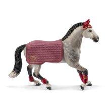Schleich Horse Club Trakehner Mare Riding Tournament Toy Figure Grey 5 To 1 42456