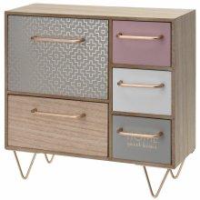 Wooden Shabby Chic Small Storage Unit | Jewellery Organiser Box