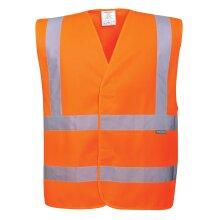 Portwest Hi-Vis Band and Brace Vest Visibility Reflective Safety Security Work Top ANSI 2