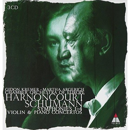 Nikolaus Harnoncourt Chamber - Schumann : Symphonies 1-4 and Vi [CD]