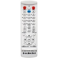 RemotesReplaced remote control compatible with the VIEWSONIC PJD5233 Projector
