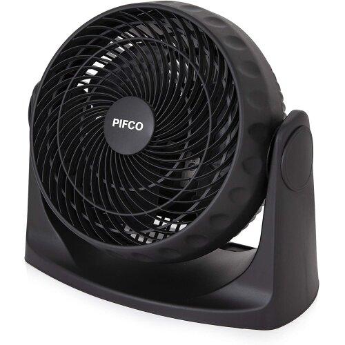 Pifco P52003 Wall Mountable Fan, 2 Speeds, 20W Motor, 8 Inch, Black