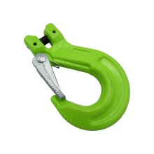 Lifting Clevis Sling Hook with Latch 10MM (Grade 100 4 Ton Chain Component 4T)