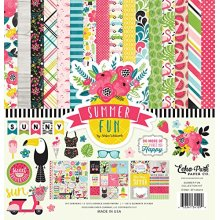 Echo Park Paper Company SF125016 Summer Fun Collection Kit