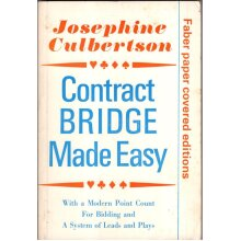 Contract Bridge Made Easy , Josephine Culbertson - Used