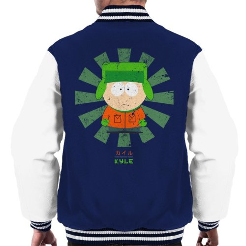 South Park Kyle Retro Japanese Men's Varsity Jacket