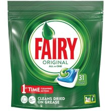 Fairy Original All-in-One 31 Dishwasher Tablets
