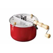 Traditional Stove Top Popcorn Maker