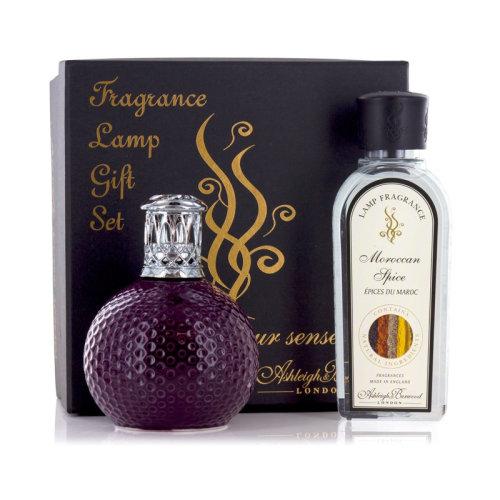 Ashleigh & Burwood Fragrance Oil Lamp Home Gift Set Diffuser Damson in Distress