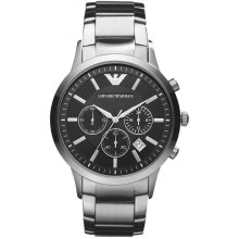 Emporio Armani Renato Watch | Men's Stainless Steel Watch