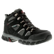 Karrimor Bodmin 4 Mid Weather Mens Walking Boots Black/Grey/Red UK Size