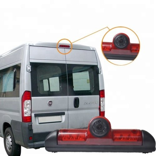 Vardsafe Brake Light Rear View Parking Reverse Camera for Fiat Ducato / Peugeot Boxer / Citroen Jumper Relay (2007-2018)