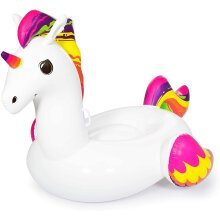 Bestway Inflatable Supersized Unicorn Ride-On, Swimming Pool Float