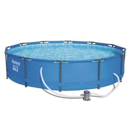 Bestway Steel Pro MAX Frame Swimming Pool With Pump - 12ft