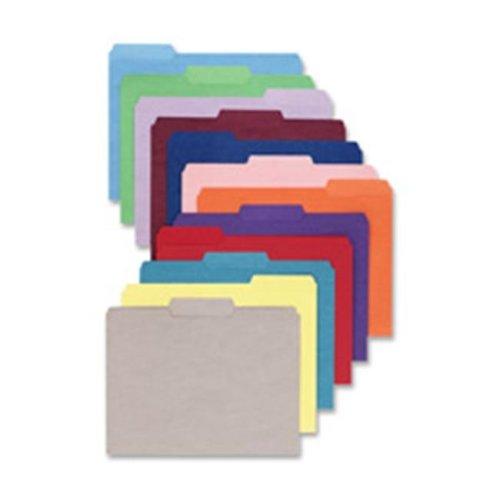 File Folder- .33 AST 1-Ply Tab- Letter- Teal