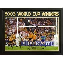 "Framed Jonny Wikinson signed HUGE 20x30"" photo with COA & proof"