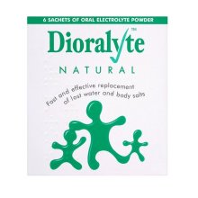 Dioralyte Natural 6 Sachets