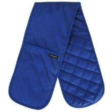 Classic Blue Plain & Simple Double Oven Glove