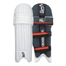 Kookaburra 2018 Blaze 900 Cricket Batting Pads Leg Guards White/Black