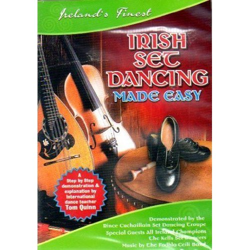 Irish Set Dancing Made Easy DVD