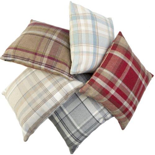 McAlister Textiles Angus Tartan Check Cushions