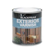 Blackfriar BF0090001E1 Exterior Varnish UV66 Clear Gloss 500ml