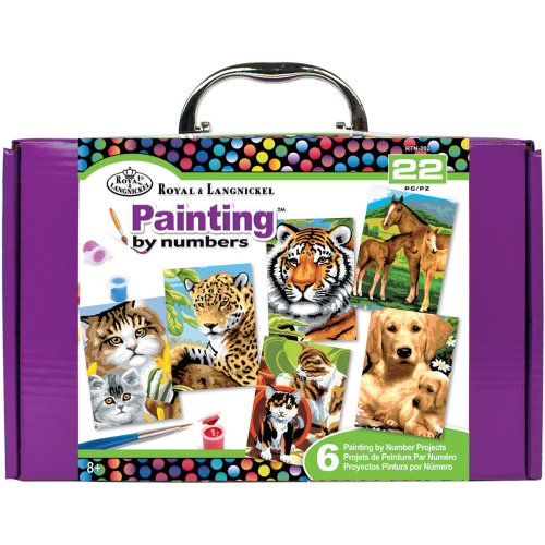 Painting By Numbers Kit-