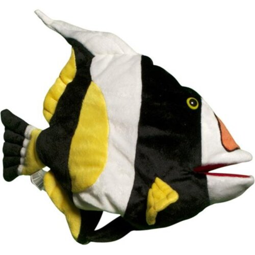 Sunny Toys NP8132 16 In. Tropical Fish - Anemone Clown, Animal Puppet
