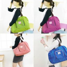 Folding Waterproof Eco Shopping Travel Shoulder Bag Pouch Tote Handbag