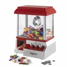 Elgento E26013 Carnival Candy Catcher,Money Box,Plastic Coins Included