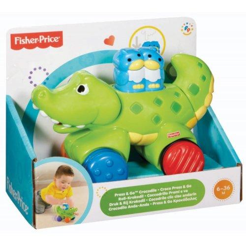 Fisher Price Amazing Animals Press & Go Gator Crocodile