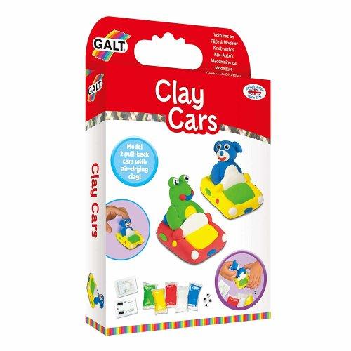 Galt Toys Clay Cars Make Your Own Clay Car Kit