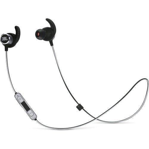 JBL Reflect Mini 2 Wireless Bluetooth Headphones - Black, Black
