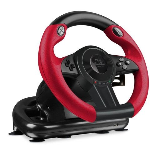Speedlink Trailblazer Steering Wheel for Games For PS4/XBOX ONE/PS3, Black