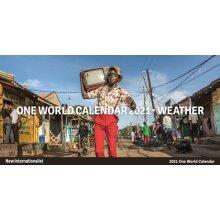 One World Calendar 2021 - Weather by Internationalist New