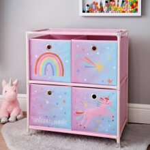 New Unicorn 4 Drawer Chest For Storage Furniture For Storage Clothes.